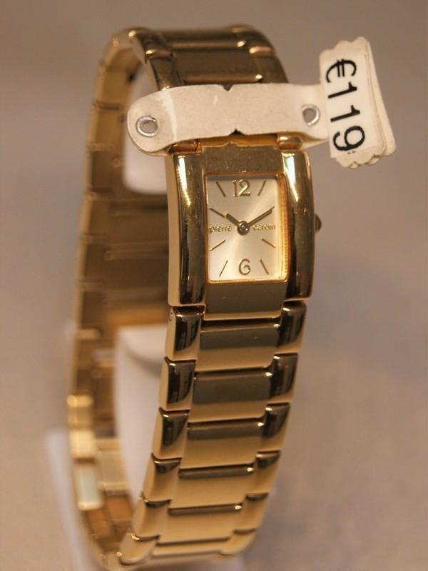 Pierre Cardin Quartz Plaqué Bracelet Goud 51422