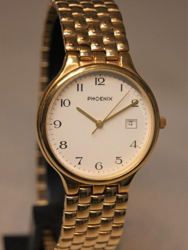 Phoenix Quartz Plaqué Bracelet Wit 4122658 804114 58801