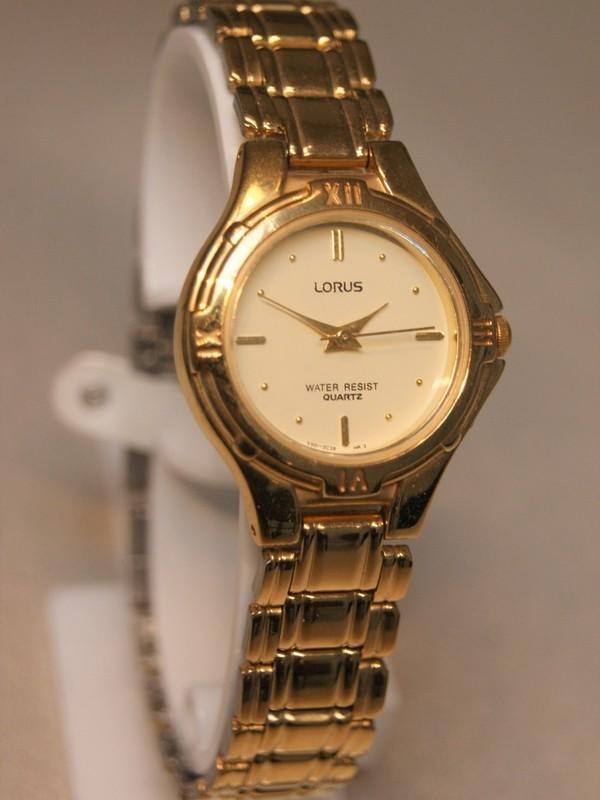 Lorus Quartz Plaqué Bracelet Goud