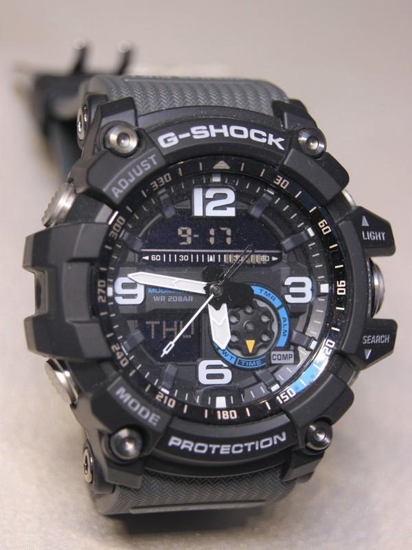 Casio G-Shock Mudmaster Quartz Zwart Kunststof Zwart GG-1000