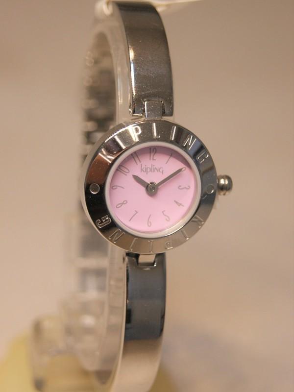 Kipling Basic Quartz Staal SS Bracelet Paarsroze 94002.14