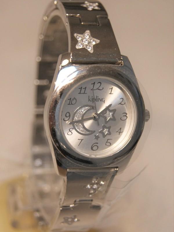 Kipling Basic Quartz Staal SS Bracelet Zilver 94002.94