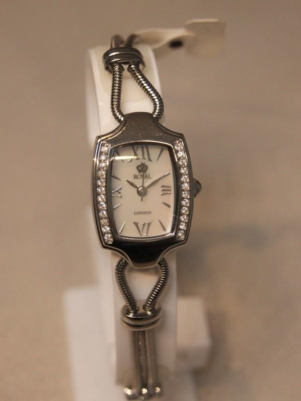 Royal London Staal SS Bracelet Wit RL-2-921-1K