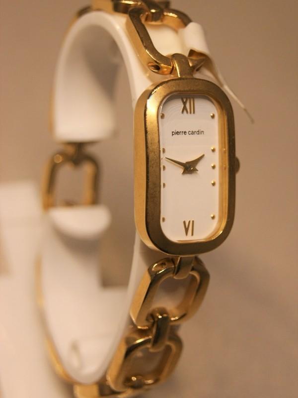 Pierre Cardin Quartz Plaqué SS Bracelet Wit 61182