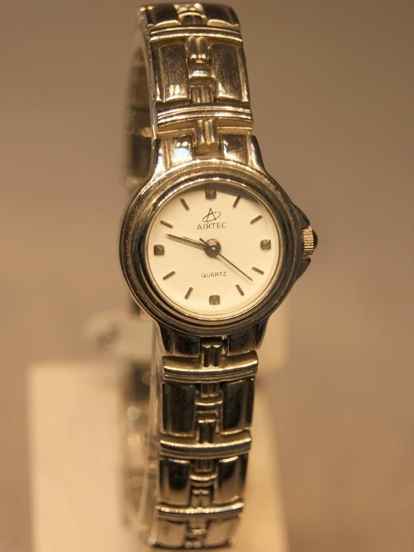 Airtec Quartz Staal Bracelet Wit