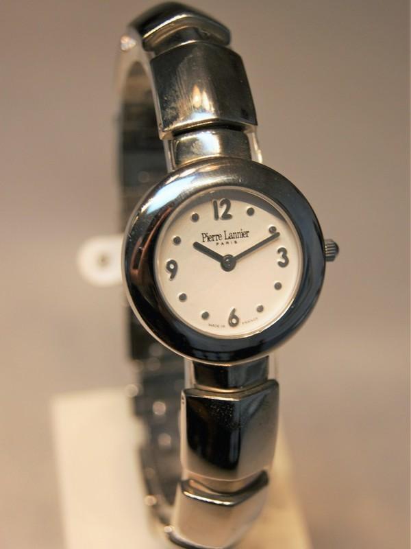 Pierre Lannier Quartz Staal Bracelet Wit 128D6