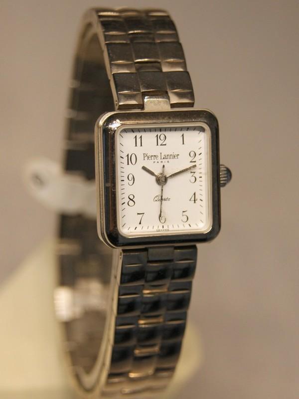 Pierre Lannier Quartz Staal Bracelet Wit 188/6