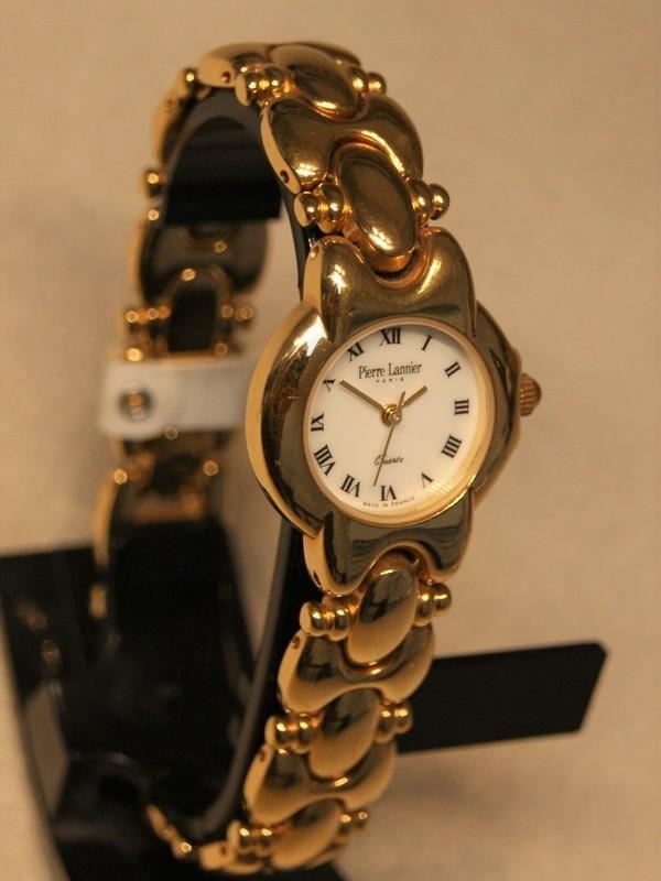Pierre Lannier Quartz Plaqué Bracelet Wit 086B5