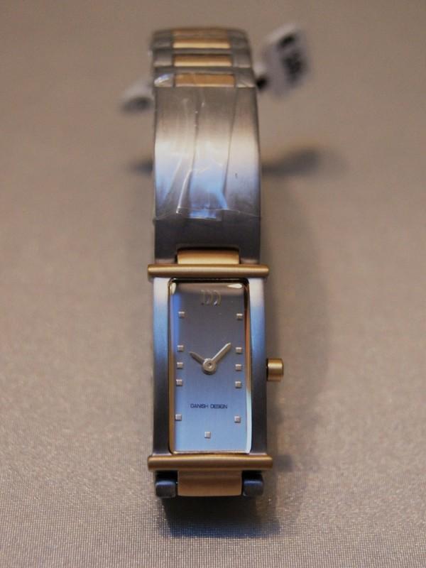 Danish Design Quartz Titanium Bicolour Bracelet Zilver IV65Q754
