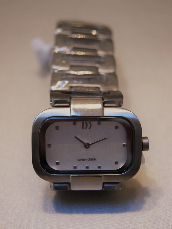 Danish Design Quartz Titanium Bracelet Wit IV62Q942