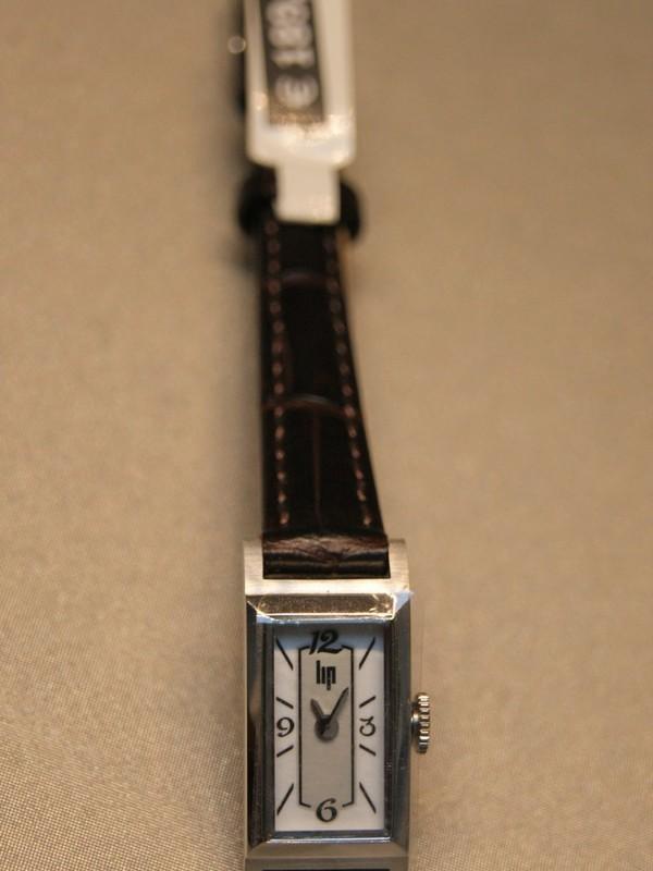 Lip T13 Quartz Bruin Leder Wit 67122