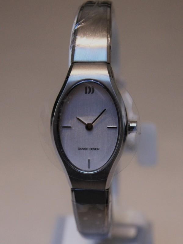 Danish Design Quartz Titanium Bracelet Wit IV62Q1266