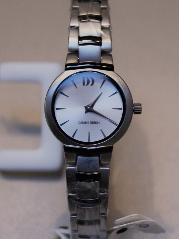 Danish Design Quartz Titanium Bracelet Wit IV64Q775