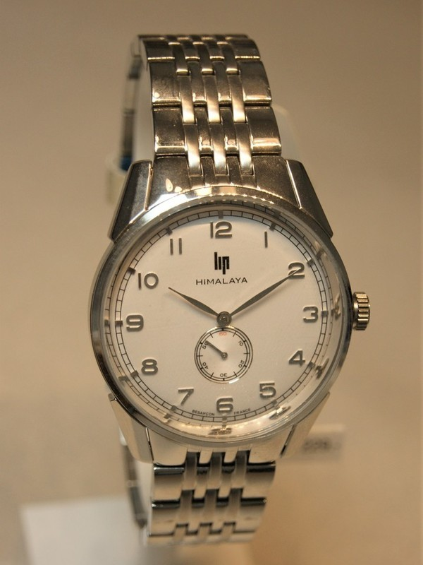 Lip Himalaya 1954 Quartz Staal Bracelet Wit 671237