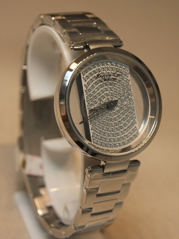 Kenneth Cole Quartz Staal SS Bracelet Zilver KC0035