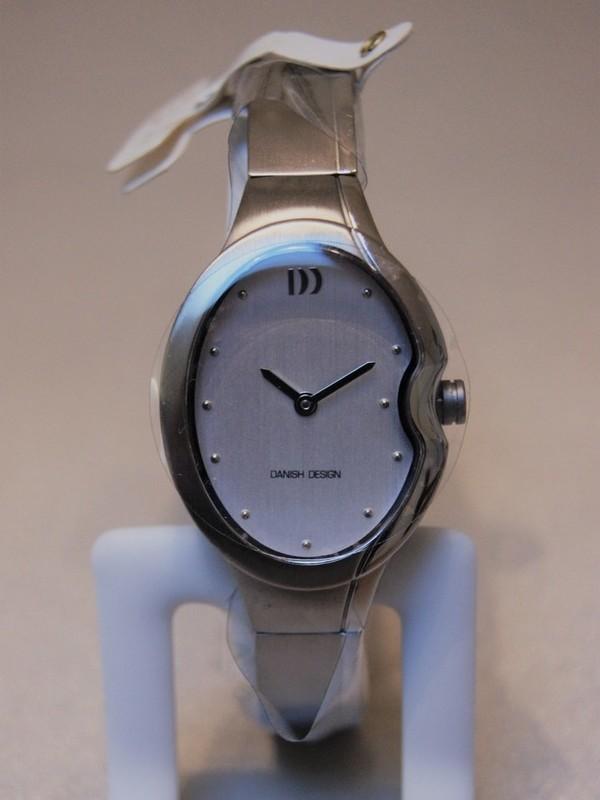Danish Design Quartz Titanium Bracelet Wit IV62Q1095
