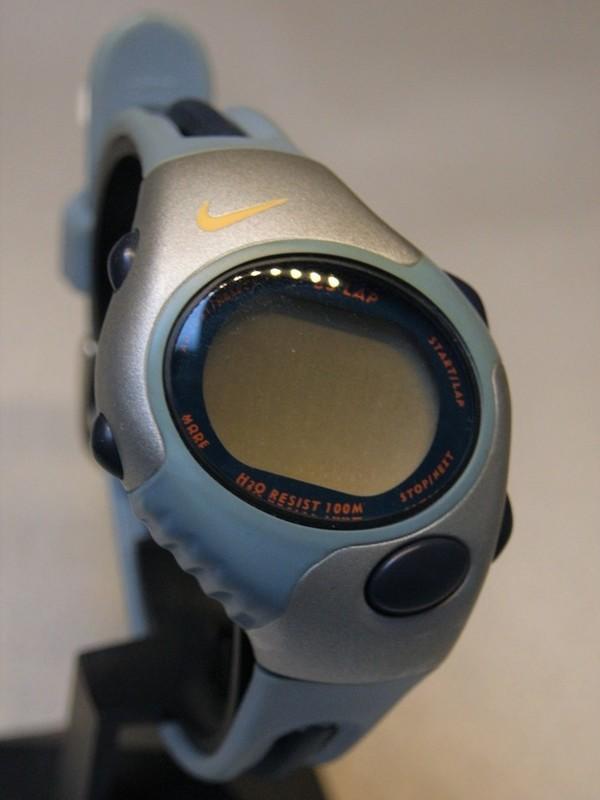 Nike Quartz Staal SS Kunststof Display WG45-4000