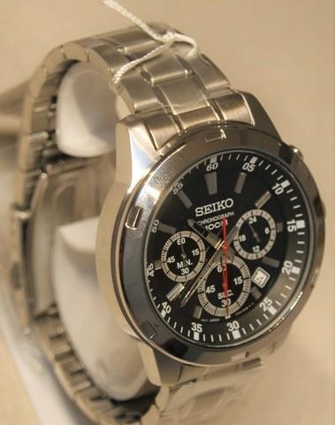 Seiko Quartz Chronograph SS Bracelet SKS6..P1