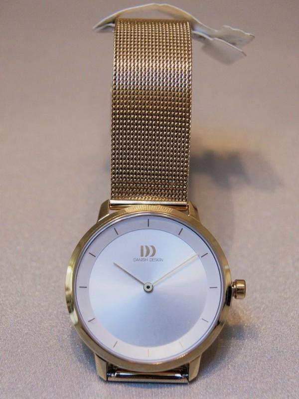 Danish Design Quartz Doublé SS Mesh Bracelet Zilver IV05Q1258