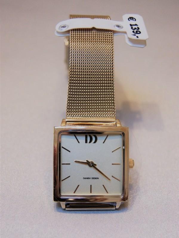 Danish Design Quartz Doublé Mesh Bracelet Wit IV06Q1248