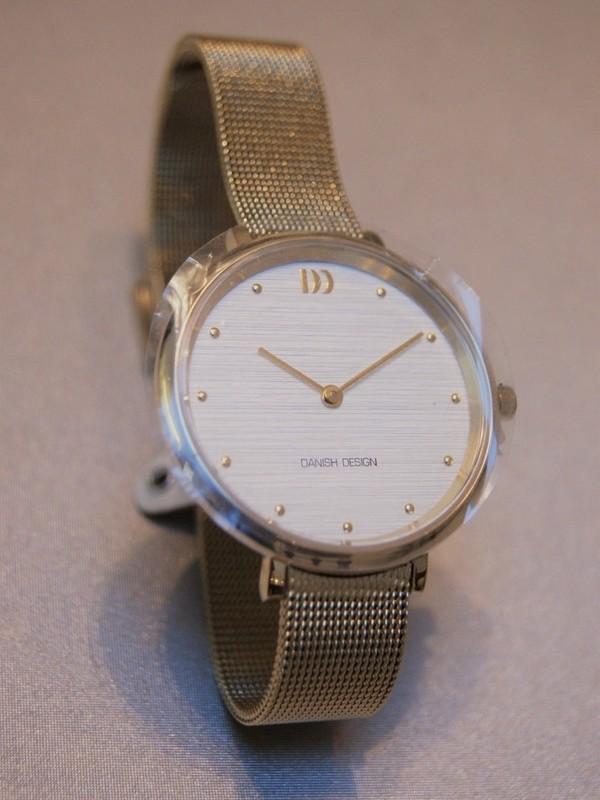 Danish Design Quartz Doublé Mesh Bracelet Wit IV05Q1218