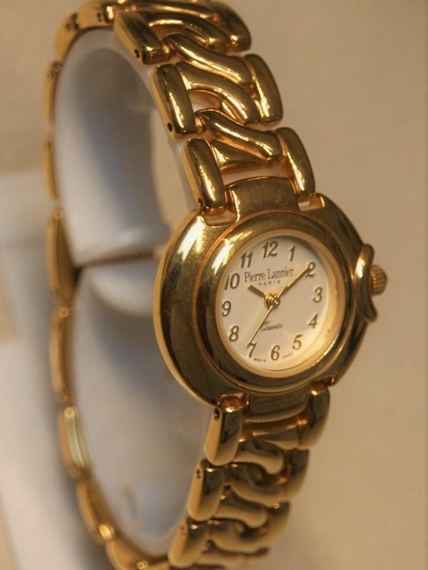 Pierre Lannier Quartz Plaqué Bracelet Wit 139A5