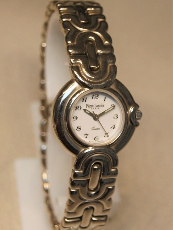 Pierre Lannier Quartz Staal Bracelet Wit 003C6