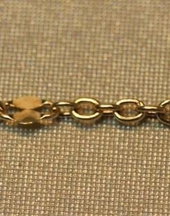 Gouden baby-armbandje met hartje