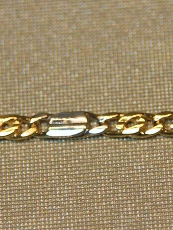 Bicolour gouden baby-armbandje