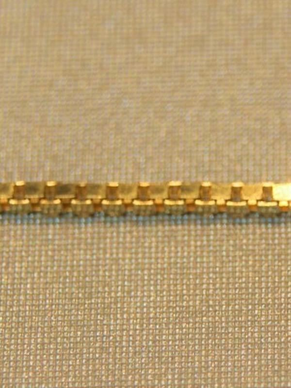 Gouden baby-armbandje