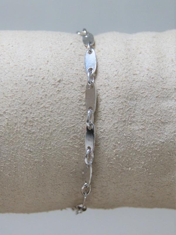 Wit-gouden armband