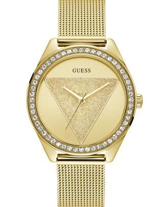Guess Tri Glitz Quartz SS (Mesh) Bracelet W1142