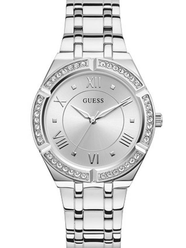Guess Cosmo Quartz Zilver SS Bracelet Zilver GW0033L1