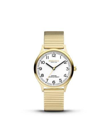 Rodania Nyon Fixo Quartz Sapphire SS Bracelet wit r22010/r22011