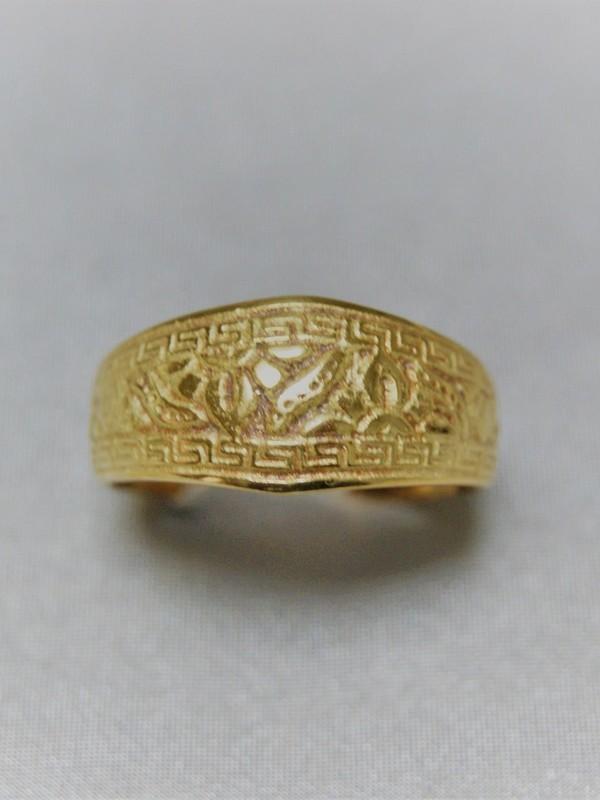 Gouden Egyptische ring