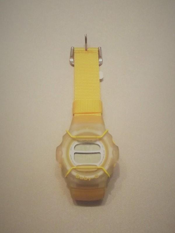 Casio Quartz Geel Nylon Baby-G BG-202