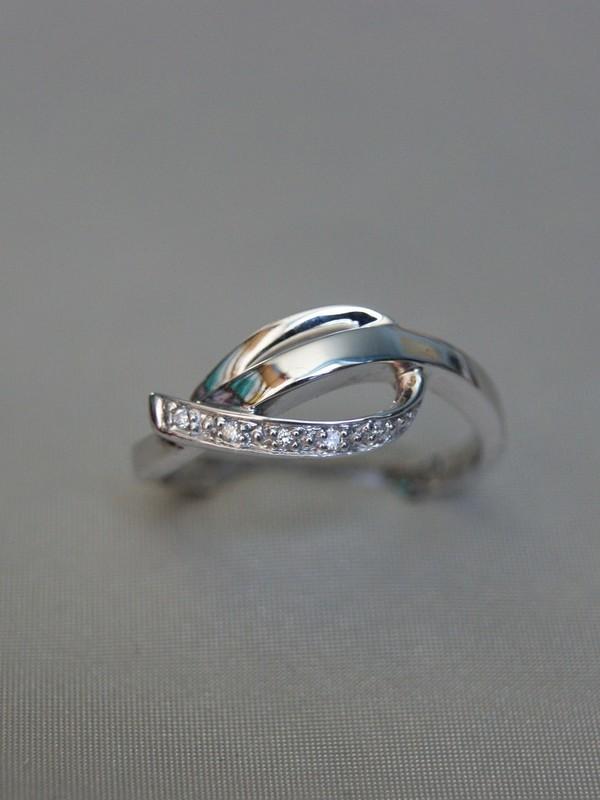 Gouden ring met zirconia