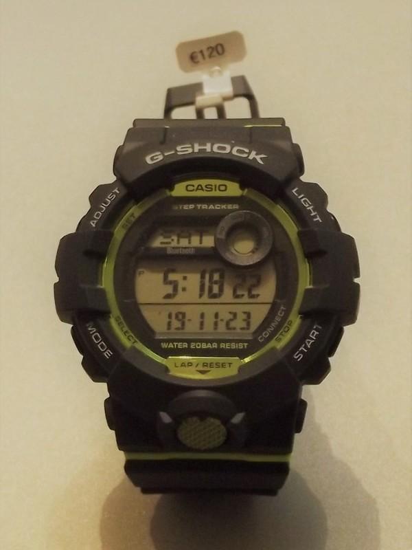 Casio G-Shock Quartz Zwart Kunststof GBD-800