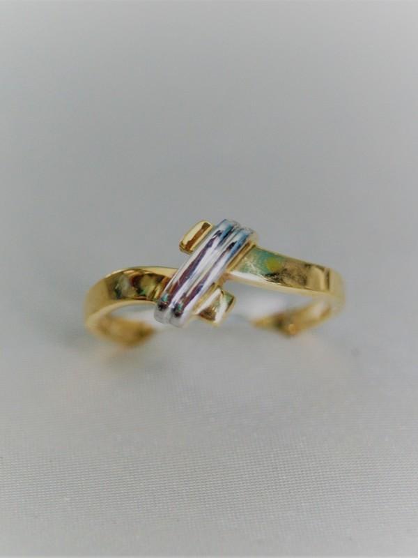 Gouden toi et moi ring