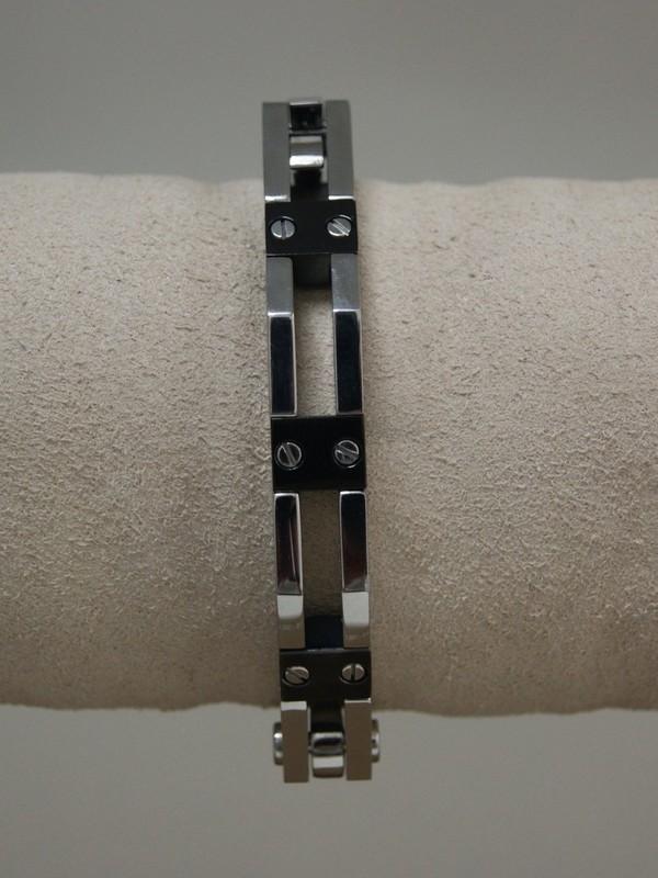 Stalen armband