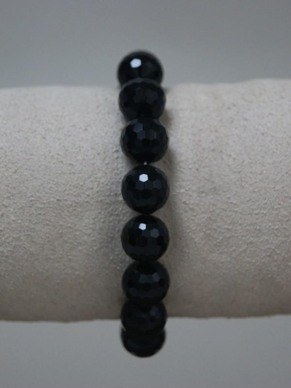 Armband met zwarte parels