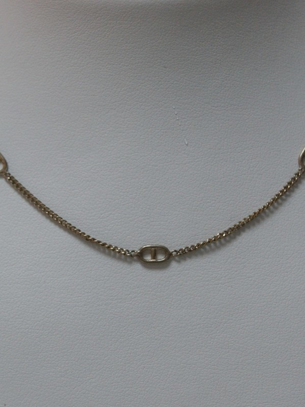 Zilveren collier