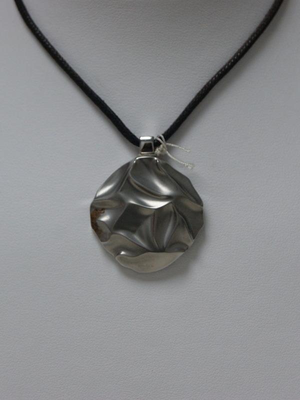 Collier met zilveren hanger