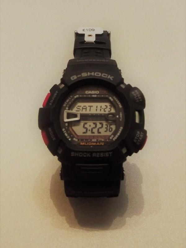 Casio G-Shock Quartz Zwart Kunststof Zwart G-9000