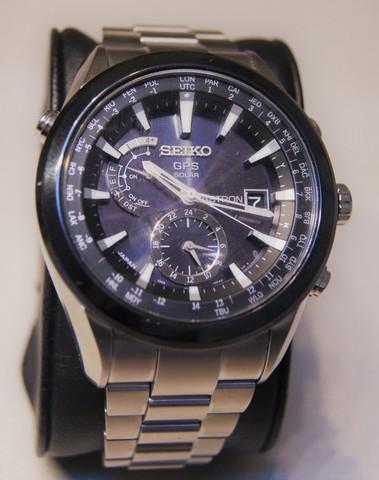 Seiko Astron GPS Solar Titanium Bracelet SAST003G