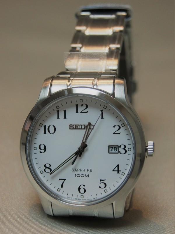 Seiko Quartz Sapphire SS Bracelet SGEH67P1