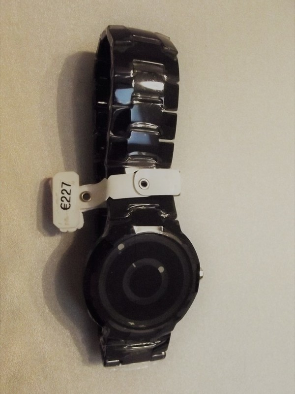 Danish Design Quartz Sapphire Zwart Bracelet Zwart IV63Q969