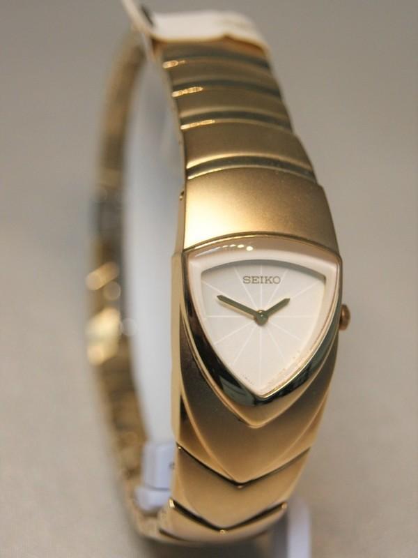 Seiko Quartz Doublé SS Bracelet Wit SUJD18P1