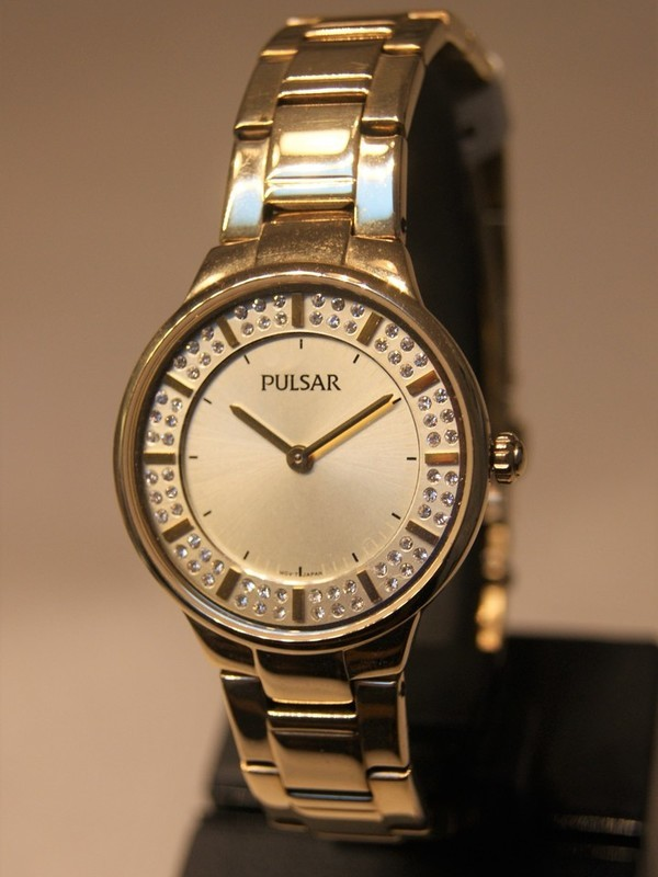 Pulsar Quartz Doublé Bracelet Goud PM2090X1