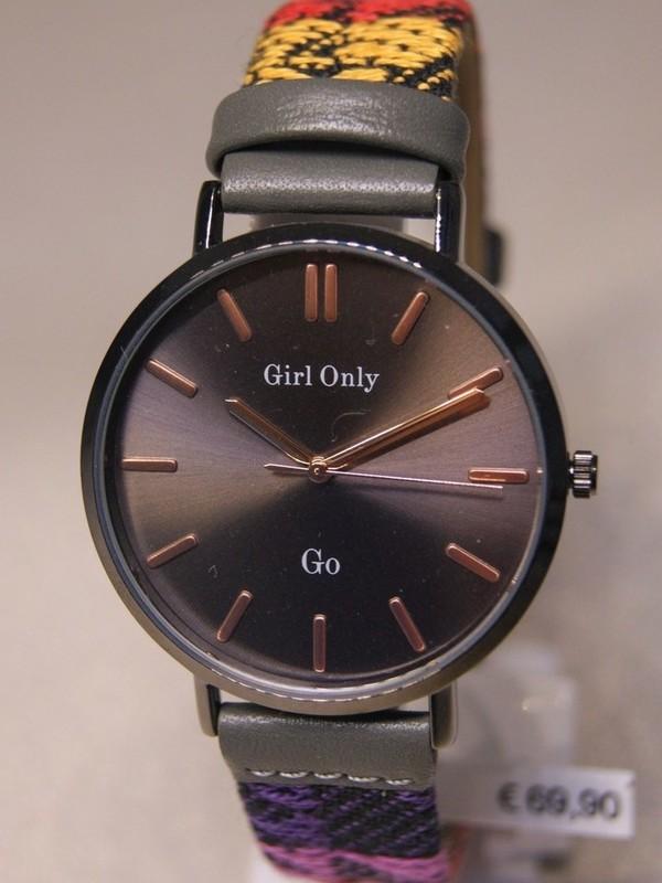 Girl Only Quartz Zwart Veelkleurig Leder Zwart 699148